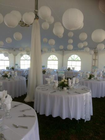 Stanley Bridge, Kanada: Wedding at The Gables