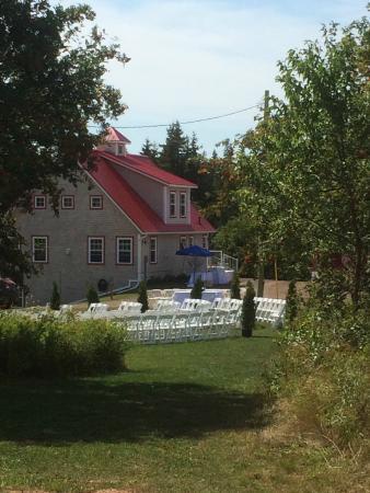 Stanley Bridge, Kanada: Wedding at our Poolhouse