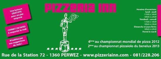 Perwez, Belgique : pizzeria inn