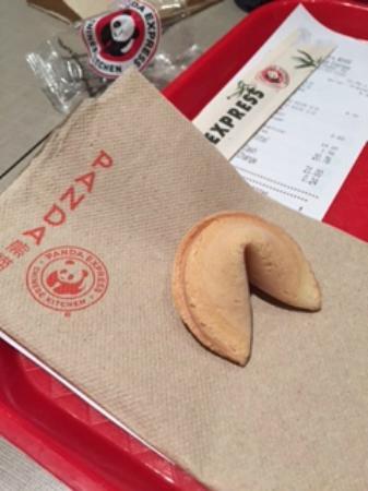 Panda Express: il mio primo biscotto della fortuna