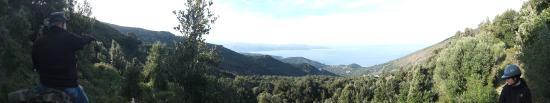Farinole, Frankreich: magnifique point de vue sur le golfe de Saint Florent et les Agriates