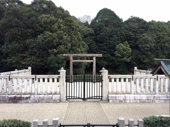 The Mausoleum of Emperor Kinmei