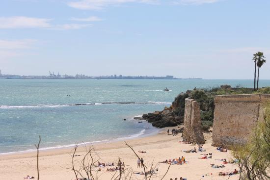 Apartamentos Puerto Sherry: Bay of Cadiz