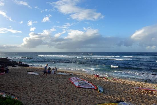 Пайя, Гавайи: Hookipa im Abendlicht