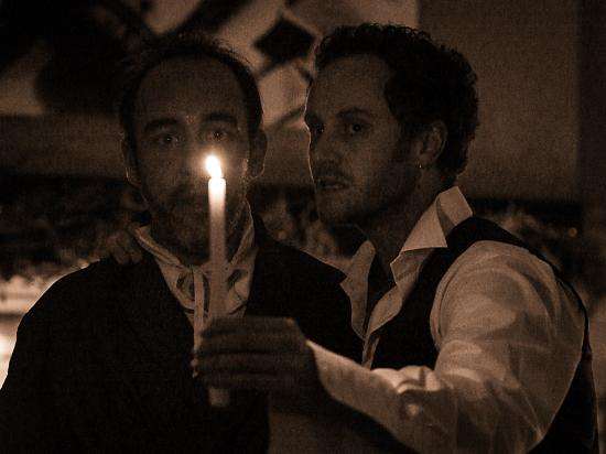 Crayke, UK: Scrooge and Marley's Ghost