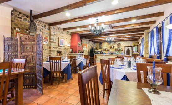 Hotel Casa Reboiro: Zona desayunos