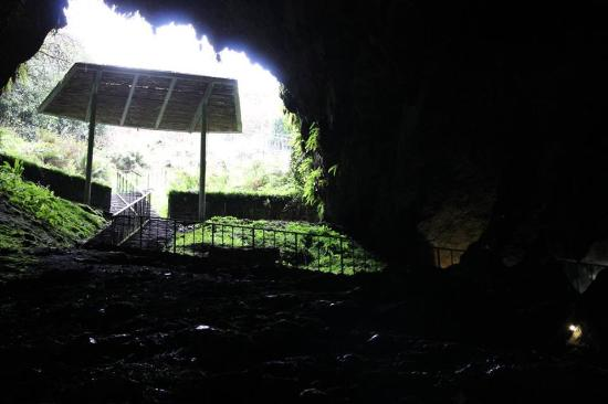 Dunmore Cave: A view from inside