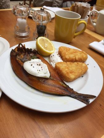 Glasgow Marriott Hotel Scottish Kippers For Breakfast