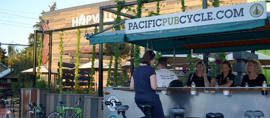 Pacific Pub Cycle at Hop Valley in Eugene
