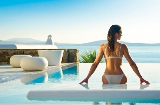 ‪‪Mykonos Grand Hotel & Resort‬: Grand Suite Private Pool‬