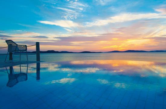 Mykonos Grand Hotel & Resort: Mykonos Amazing Sunset