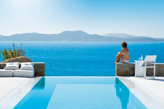 Mykonos Grand Hotel & Resort : Private Pool Suite
