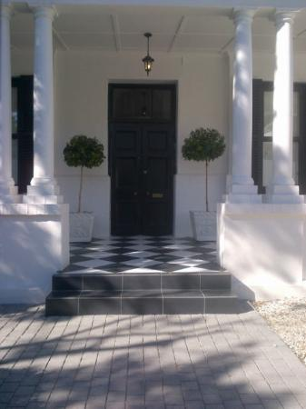 The Cape Cadogan: Front door