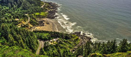 Cape Perpetua north of Florence