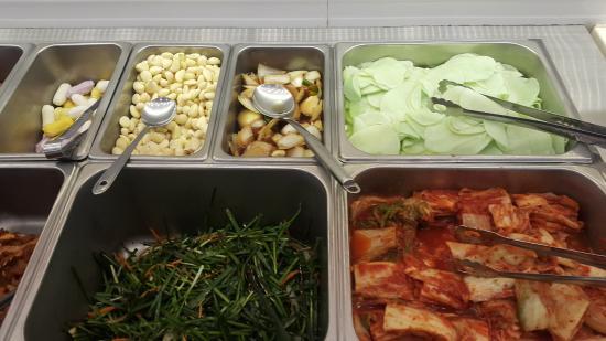 Self Bar Meat And Salad Buffet Bild Von Selfbar Hongdae Seoul