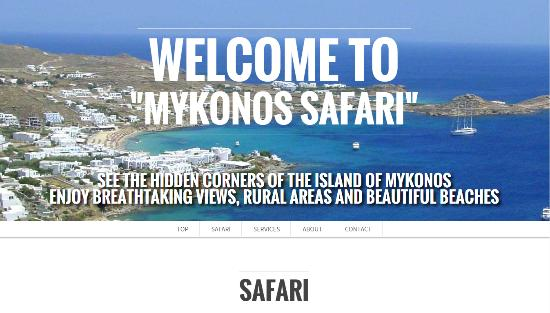 Photo of Tourist Attraction Mykonos Safari at Mykonos Town 846 00, Greece