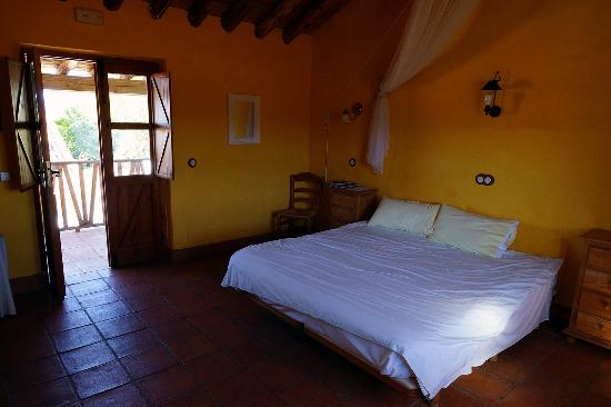 Finca La Guzmana: Our room in the converted stable.