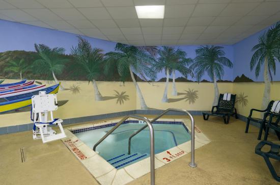 Hampton Inn & Suites Hershey: Whirlpool Spa