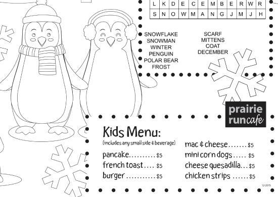 Albertville, MN: kids menu