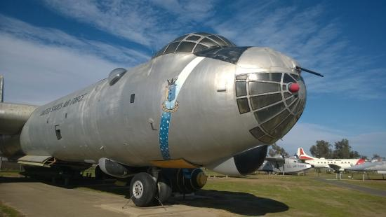 Atwater, CA: RB-36H Peacemaker nose section
