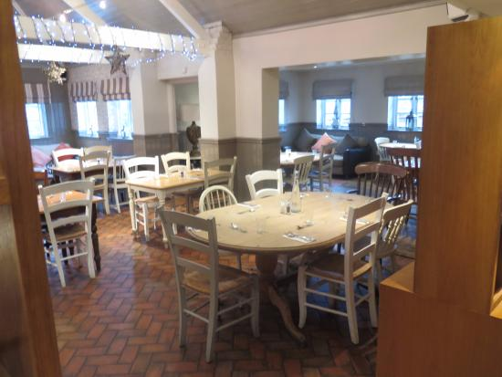 Snettisham, UK: one of the new dining areas