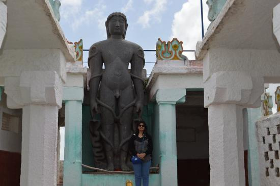 Karnataka, India: Replica of Bahubali