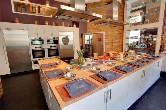 Le 444 rue st fran ois xavier photo de atelier et for Atelier cuisine montreal