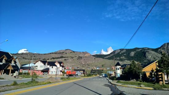 Hotel Cumbres Nevadas: Виднеется Фицрой