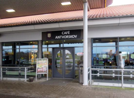 Slagelse, Dinamarca: Cafe Antvorskov