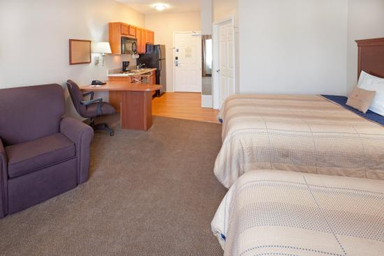 Candlewood Suites Longview: Double Bed Guest Room