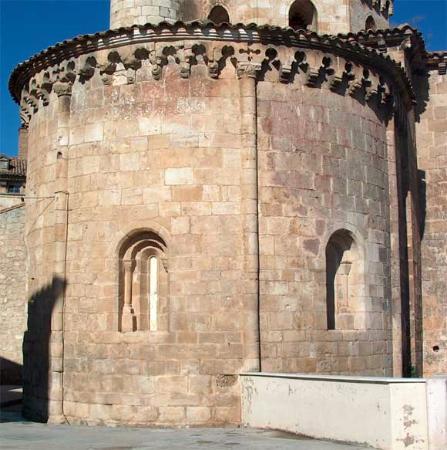Iglesia De San Miguel De Almazan: Ábside