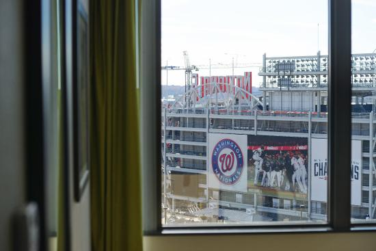 Stadium views. This photo of Hampton Inn & Suites Washington DC - Navy Yard is courtesy of TripAdvisor