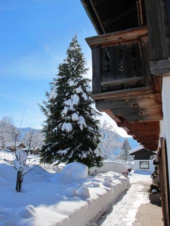 Gaestehaus Bergstueberl: Seitenansicht
