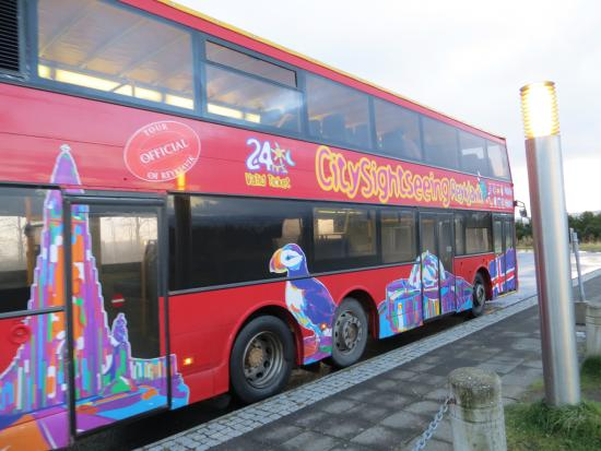 City Sightseeing Reykjavik: Our bus