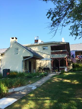 Jacob Rohrbach Inn: Rear view