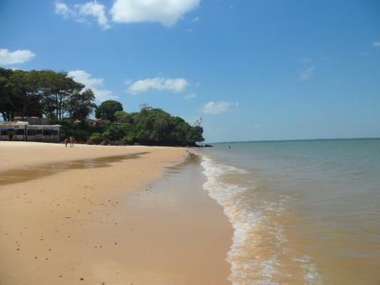 Belém, PA: praia grande de outeiro