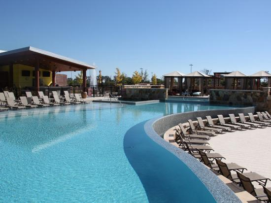 Wind Creek Casino & Hotel, Atmore: Infinity Pool