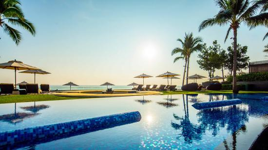 InterContinental Hua Hin Resort: Hotel beachfront