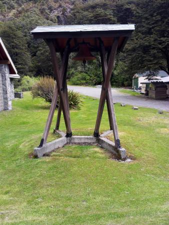 Arthur's Pass Chapel: the bell