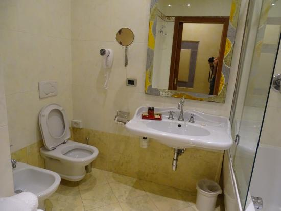 Bathroom Picture Of Hotel Alba Palace Florence Tripadvisor