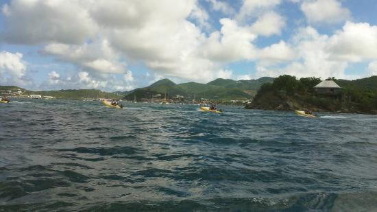 Zatoka Simpson, Sint Maarten: Rhino RIders