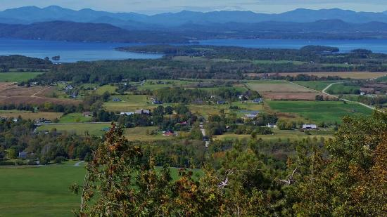 Charlotte, VT: View from the top of Mt. Philo