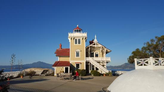 East Brother Light Station: Lovely Victorian East Brother Lilght Station