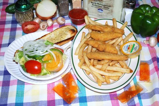 Alton, NH: Chicken Finger Dinner