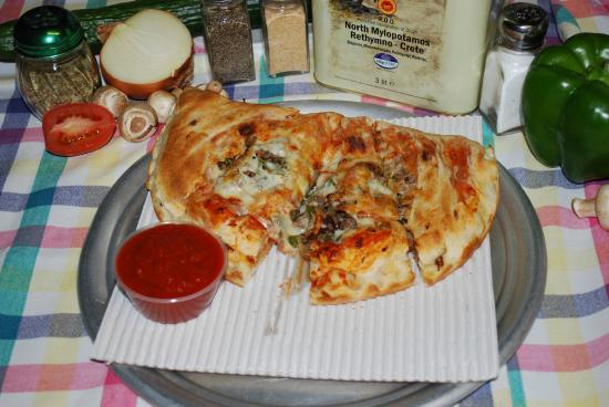 Alton, NH: Steak Calzone