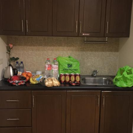Prism Hotel : kitchen