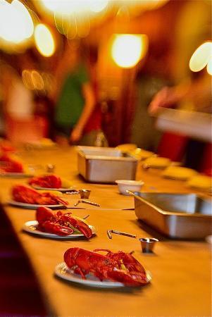 Fleischmanns, estado de Nueva York: Lobsters!
