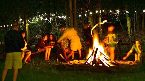Fleischmanns, NY: Magical Bonfire