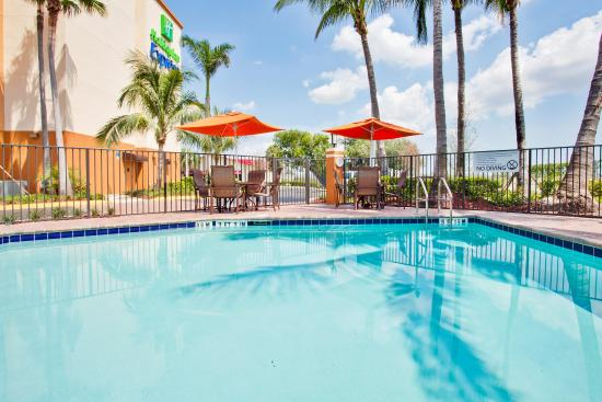 Outdoor swimming pool picture of holiday inn express - Outdoor swimming pools north west ...
