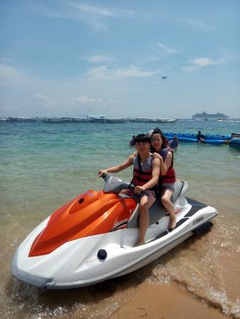 Stunning Bali Tours: jet ski watersport